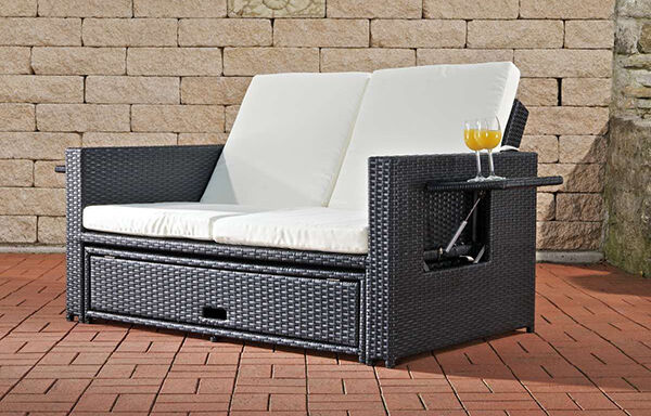 coole lounge m bel aus polyrattan hot spots im sommer ebay. Black Bedroom Furniture Sets. Home Design Ideas