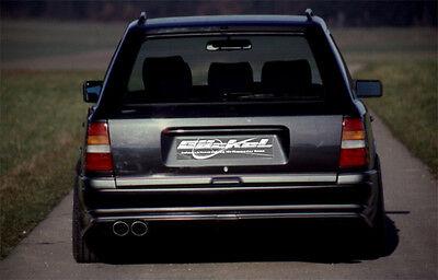 Mercedes Benz W124 T Premium Sportauspuff Auspuff Endschalldämpfer VA li. B