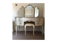 French Louis Antique Dressing Table