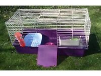 Complete rabbit/guinea pig indoor cage