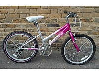 "Girls Raleigh KRUSH 20"" Mountain Bike In Excellent Condition"