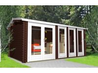 Garden offices/40mm many sizes available. Free shingle tiles