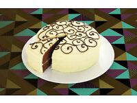 * Konditor & Cook * Full Time Cake Shop Assistants * London's Cake Shop * £8 + benefits *