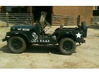 Willys jeep 1957 M38 24 volt