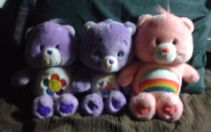 Care Bears Plushies Harmony Bear & Sweet Dreams Bear & Care Bea
