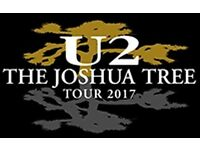 2 collectors edition tickets for U2 Croke Park 22nd July 2017