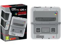 Nintendo 3DS XL SNES Edition with Pokemon Ultra Sun (Open to offers)