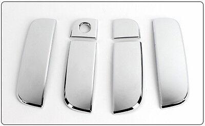 Chrome Door Catch Handle Under Base Cover 4pc Kit For 2008-2013 Kia Soul