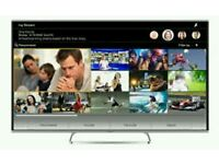 "Panasonic 50"" LED smart 3D wi-fi built HD freeview full Hd 1080p.TX50AS500."