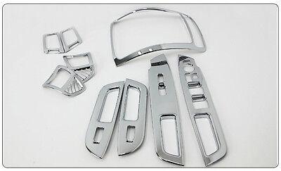 Chrome Interior molding kit For Kia New Sorento R (2012 ~ on) ///