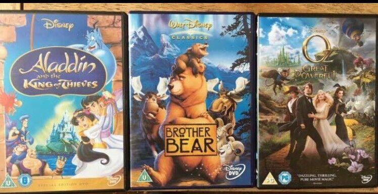 DVDs - £3 per bundle