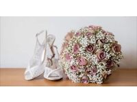 Bridal shoes size 5. Glitz