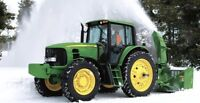 Snow removal driver