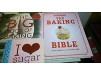 3 baking books