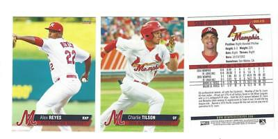 COMPLETE 2016 MEMPHIS REDBIRDS TEAM SET MINOR LEAGUE AAA ST LOUIS CARDINALS