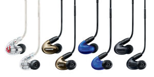CLEARANCE on all BRAND new SHURE earbuds and headphones!