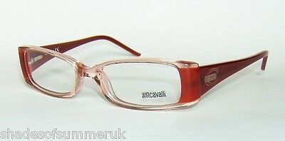 JUST CAVALLI JC43 P91 RUST ORANGE GRADIENT FRAMES EYE GLASSES 50mm