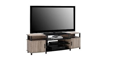 TV Stand For a 50 Inch TV Flat Screen Media Unit Sonoma Oak Finish , used for sale  USA