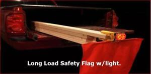 SAFETY FLAG for long loads.