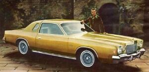 WANTED: 1976 Chrysler Cordoba (1975-77 only) - still looking!