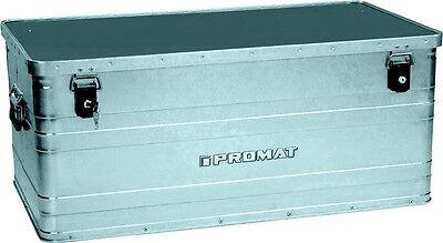 PROMAT Aluminiumbox 140 l Alubox Alukiste Lagerkiste Transportkiste Transportbox