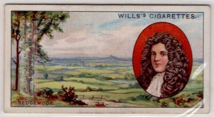 Battle of Sedgemoor Monmouth Rebellion England 1685  80+  Y/O Ad Trade Card