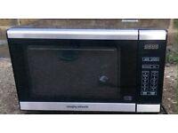 Morphy Richards Standard Microwave silver