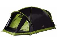 Vango Sigma 300 +. Tent and adventure tarp. Colour: black and green. Condition: light use
