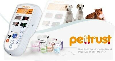 Petrust Pettrust True Veterinary Blood Pressure Monitor With 7 Cuffs For Dogcat
