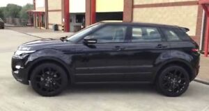 Rare black on black Range Rover Evoque