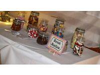 Sweet station jars (mason jars)