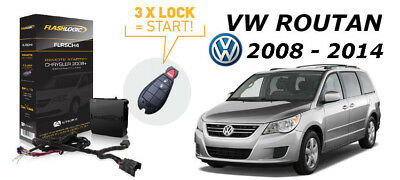 Flashlogic Add-On Remote Starter for 2014 VW Volkswagen Routan Plug & Play