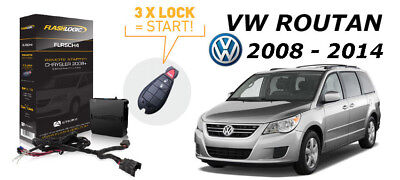 Flashlogic Add-On Remote Starter for VW Volkswagen Routan 2009 Plug & Play