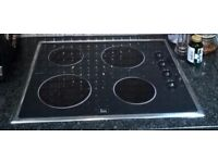 Teka Ceramic Hob - Perfect working condition - available with or without extractor hood