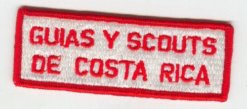 MINT Older Guias Y Scouts De Costa Rica Patch