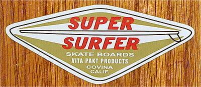 Vintage  HOBIE Surfboards sticker HOBIE California Hawaii surfing sticker