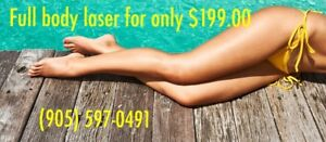 Laser hair removal with Soprano!