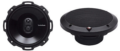 """2) New Rockford Fosgate P1675 6.75"""" 120W 3 Way Car Coaxial Audio Speakers Stereo"""