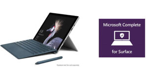 Microsoft Surface Pro 5 LTE 12.3,7th Gen Core i5,256GB,8GB,3YR W