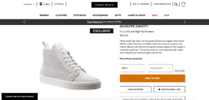 Exclusive Guiseppe Zanotti casual Sneakers
