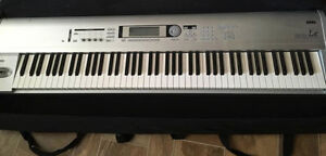 Korg Triton LE 88 weighted keyboard