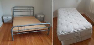Twin Mattresses & Queen Bed Set