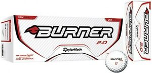 TAYLORMADE BURNER 2.0 BALLS-24 PACK-BRAND NEW!