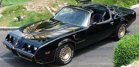 American Muscle Car any age wanted: PONTIAC FIREBIRD, CAMARO, CORVETTE, MUSTANG or similar