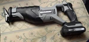 Mastercraft Maximum Cordless Reciprocating Saw & Drill/Driver