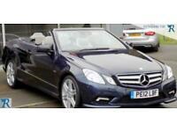2012 Mercedes-Benz E250 CGI BLUEEFFICIENCY S/S SPORT Auto Convertible Petrol Aut