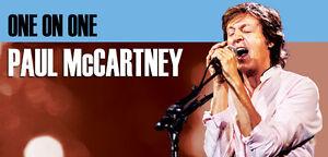 Paul McCartney floor tickets