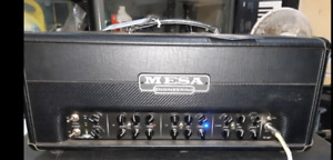 MESA BOOGIE TC 50 head, footswitch and amp cover