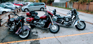 3 Motorcycles for sale