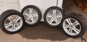 Mag et pneus d'hiver pour BMW X3